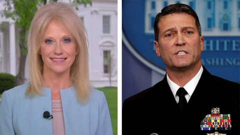 Kellyanne Conway: Dr. Jackson wants to fight for nomination