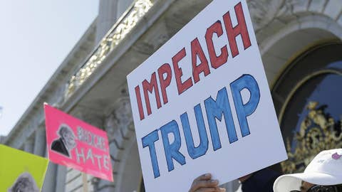 Democrats differ on whether to run on Trump's impeachment