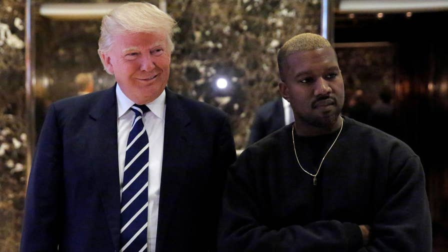 Rapper Kanye West professed his 'love' for President Donald Trump and complained that he 'couldn't get anything done' with former President Barack Obama.