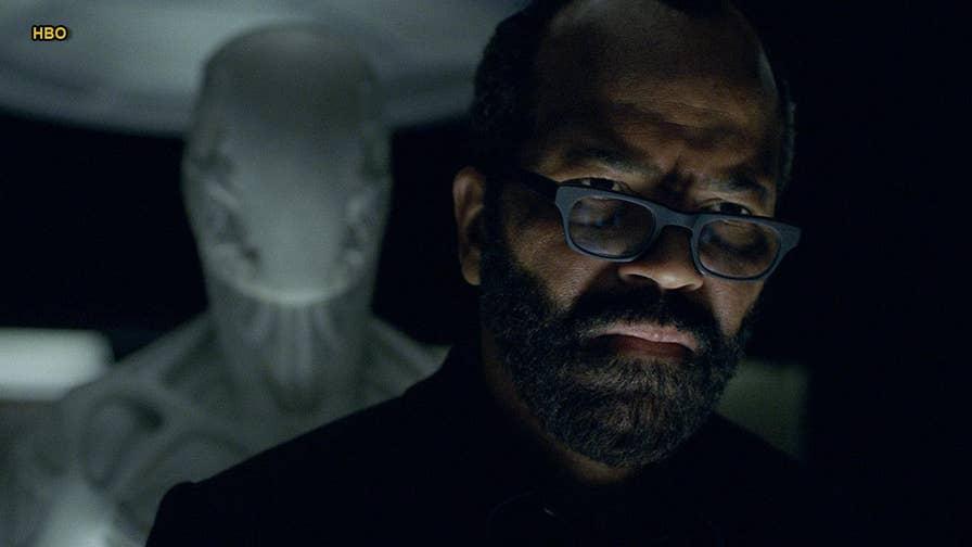 Jeffrey Wright says HBO's 'Westworld' doesn't 'glamorize gun violence.'
