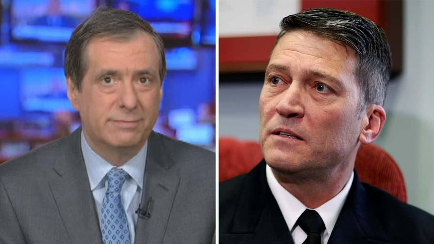 'MediaBuzz' host Howard Kurtz weighs in on the backlash over conduct allegations with Ronny Jackson, Trump's pick to head the VA.