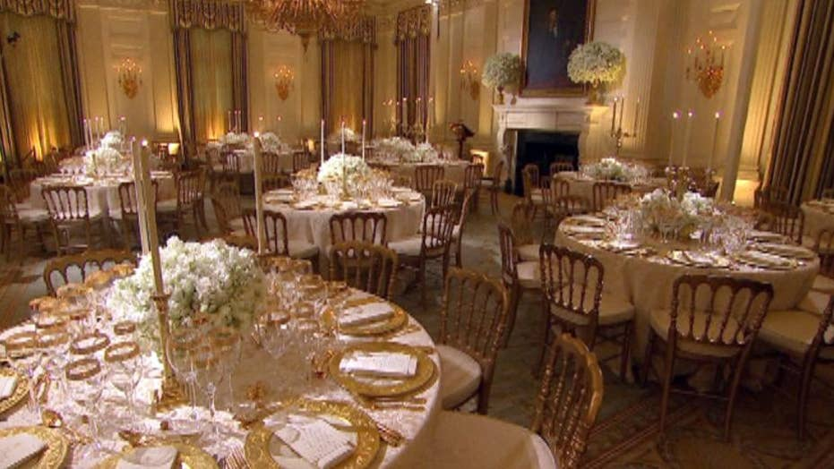 How to host a state dinner at the White House