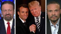 President Trump and French president discuss Iran, North Korea and Syria; Dr. Sebastian Gorka, former deputy assistant to the president and Fox News national security strategist, and Dan Bongino, NRA TV contributor and former Secret Service agent, react on 'Hannity.'