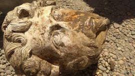 Archaeologists in Egypt have discovered an extremely rare marble head depicting the Roman Emperor Marcus Aurelius.