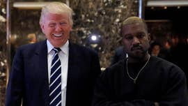Following a series of pro-Trump tweets, Kanye West has continued to flaunt his Trump support in the streets.