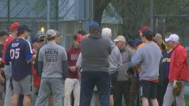 Republican members of the Congressional baseball team returned to Eugene Simpson Stadium in Alexandria, Virginia, for the first practice since the shooting that stunned the nation last year, critically wounding House Majority Whip Steve Scalise.
