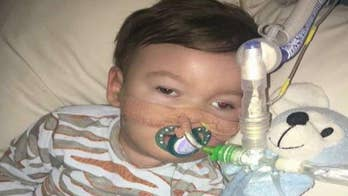 UK judge denies parents' decision for sick son. Baby Alfie's parents are seeking treatment in Italy.