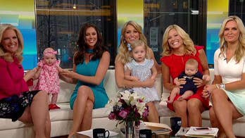 Fox News mothers welcome back new mom Anna Kooiman. #ProudAmerican spends July 4th in Norfolk, Virginia.