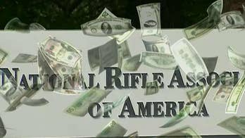 NRA raised $2.4 in March.