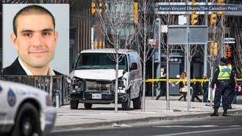 Moments before the suspect drove into crowd, he took to Facebook praising a man who went on a shooting rampage in 2014. Molly Line has the latest from Toronto.