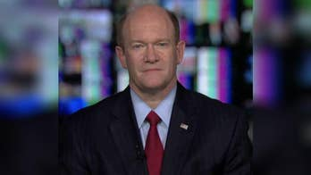 Democratic Senator Chris Coons changed his committee vote from 'no' to 'present' as part of a bipartisan gesture for a colleague; the senator discusses his decision on 'The Story.'