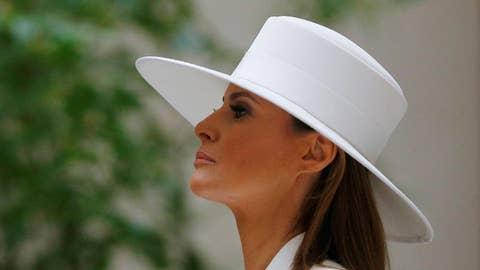 Melania Trump scores triumph over media critics
