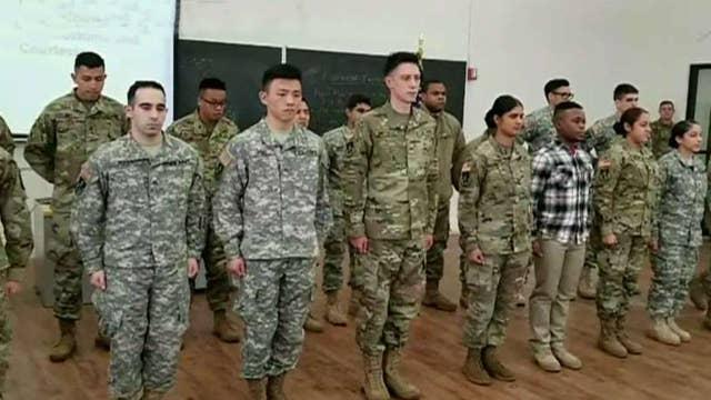 CCNY student activists demand ROTC program be shut down