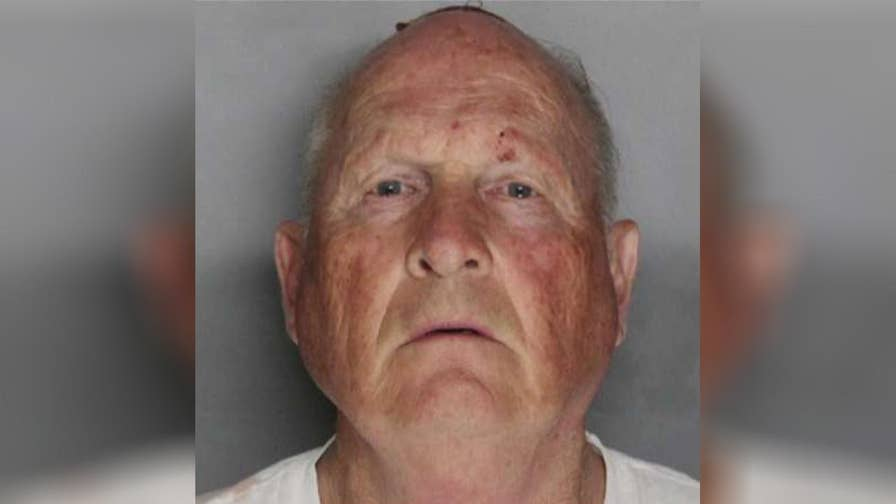 Authorities say DNA led to the arrest of a former police officer suspected of dozens of slayings and sexual assaults in the '70s and '80s.