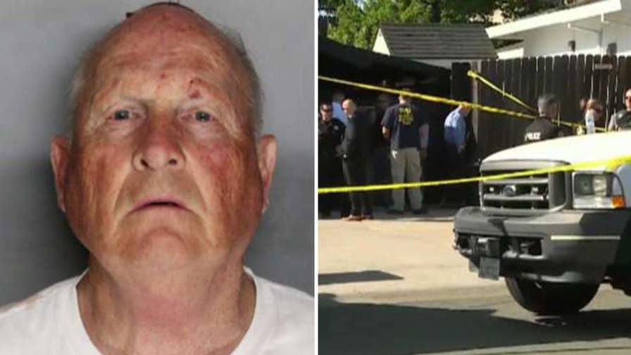 Cold case expert Paul Holes reacts on 'The Story' after an arrest is made in the Golden State Killer case.