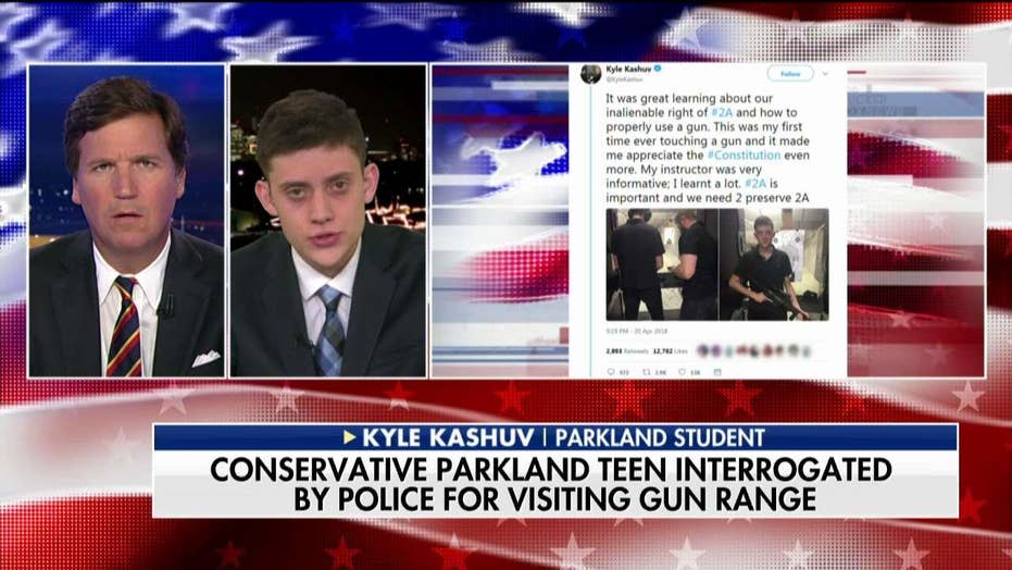 Kyle Kashuv Talks Going to Gun Range, School Interrogation