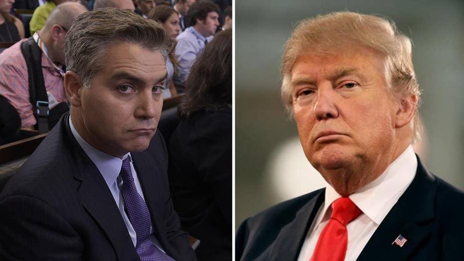 Gutfeld on Acosta's comments on Trump