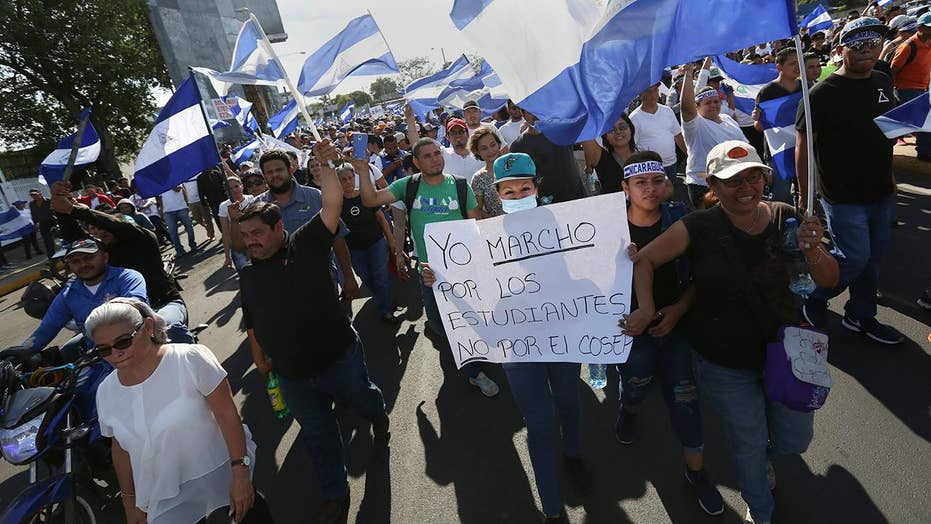 Anti-government protests spread across Nicaragua