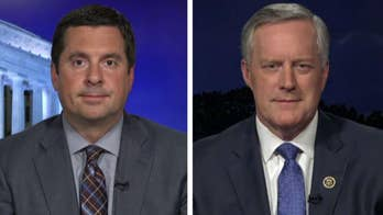 Rep. Devin Nunes accuses the Justice Department of slow-walking the release of documents; he and Rep. Mark Meadows speak out on 'Hannity.'