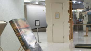 University of Utah students get Cry Closet for finals week.
