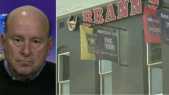 Brann's Steakhouse owner Johnny Brann explains his refusal on 'Fox & Friends First.'