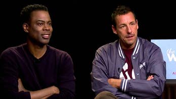 Michael Tammero sits down with cast members Adam Sandler and Chris Rock.
