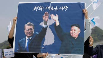 The meeting between North Korea's Kim Jong Un and South Korea's President Moon will take place in the DMZ; senior foreign affairs correspondent Greg Palkot report from Seoul, South Korea.