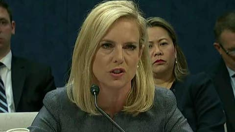 DHS secretary sends warning to illegal immigrant 'caravan'