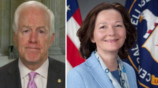 Sen. John Cornyn calls Gina Haspel a 'patriot'