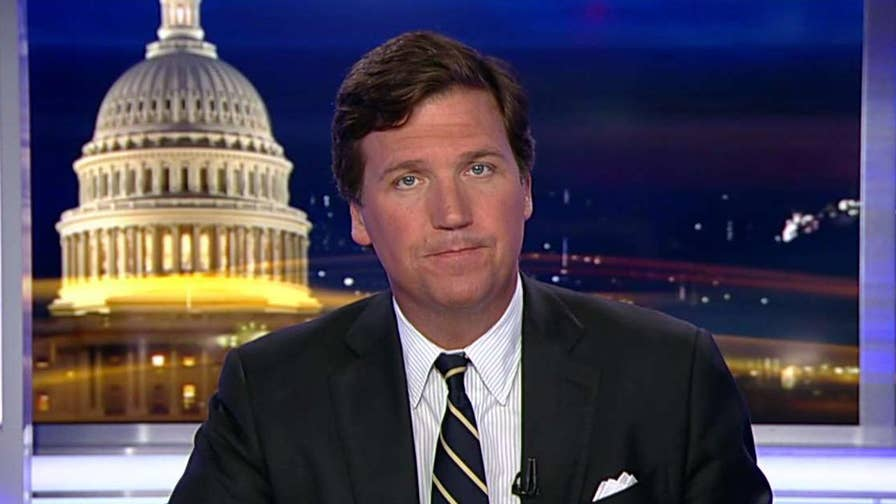 Tucker: Joy Reid is a progressive left darling, but back in 2006, her blog posts showed she was anti-gay. But she claims she never wrote the blog posts and was hacked by Russian agents. What a crock.
