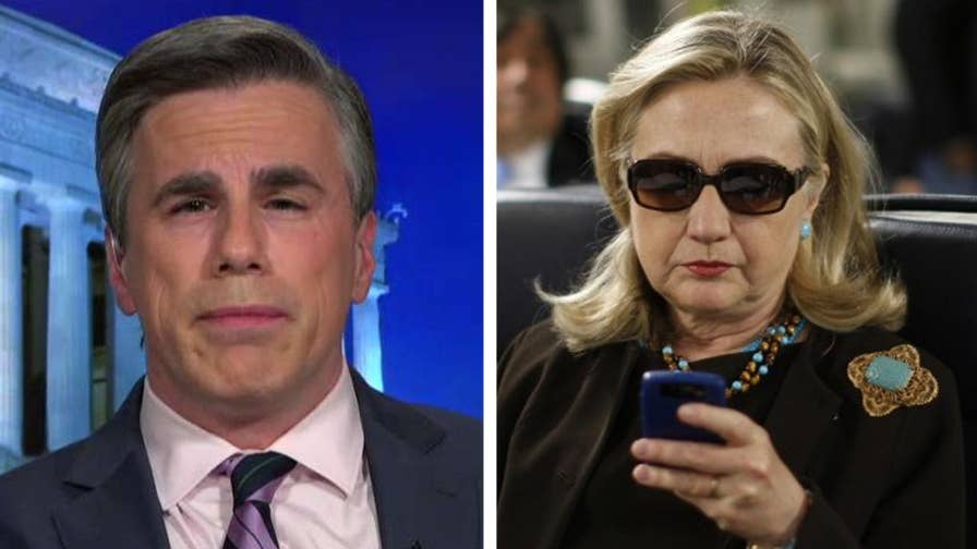 Judicial Watch released a new batch of Clinton emails; Tom Fitton Gregg Jarrett and Sara Carter speak out about the Clinton investigation and James Comey on 'Hannity.'
