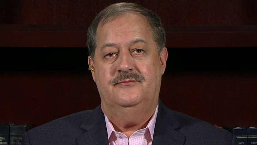 Don Blankenship says he is in a better position to help West Virginians with jobs.