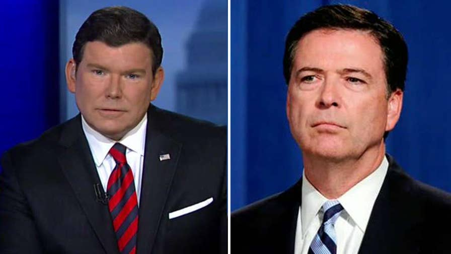 'Special Report' host Bret Baier sat down with the former FBI director; Baier reacts to Comey's responses on 'The Story.'