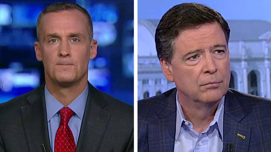 Fired FBI director James Comey sat down with Bret Baier for an interview on Fox News; former Trump campaign manager Corey Lewandowski reacts to this and more on 'The Story.'