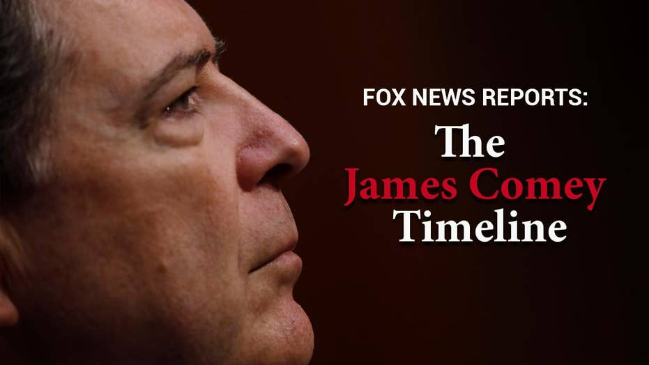 Fox News reports: The James Comey timeline
