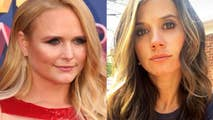 Staci Nelson, the estranged wife of Miranda Lambert's rumored new boyfriend, Evan Felker, posted a tearful photo on Instagram. This comes after Lambert's ex, Blake Shelton, sent his own Tweets on the matter.
