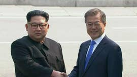 North Korean leader Kim Jong Un crossed the border into South Korea on Friday to meet President Moon Jae-in for an historic summit.