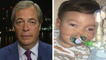 23-month-old Alfie Evans was taken off of life support by court order; Fox News contributor Nigel Farage discusses why Alfie's life matters on 'The Ingraham Angle.'