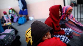 Migrants from Central America have reached the U.S. border; William La Jeunesse reports from Tijuana, Mexico.