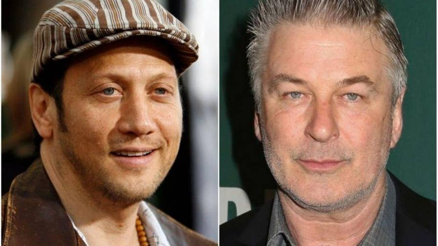 Comedian Rob Schneider says Alec Baldwin's impression of Donald Trump isn't funny because it is 'fuming, seething anger.'