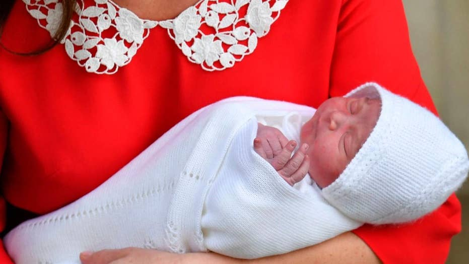Prince William and Kate Middleton name the royal baby Louis