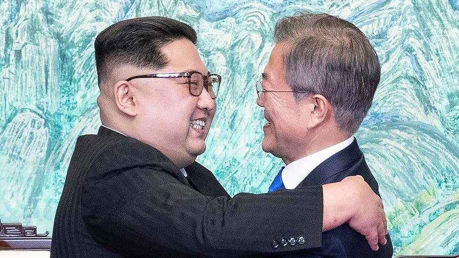 Korean leaders announce shared goal of denuclearization