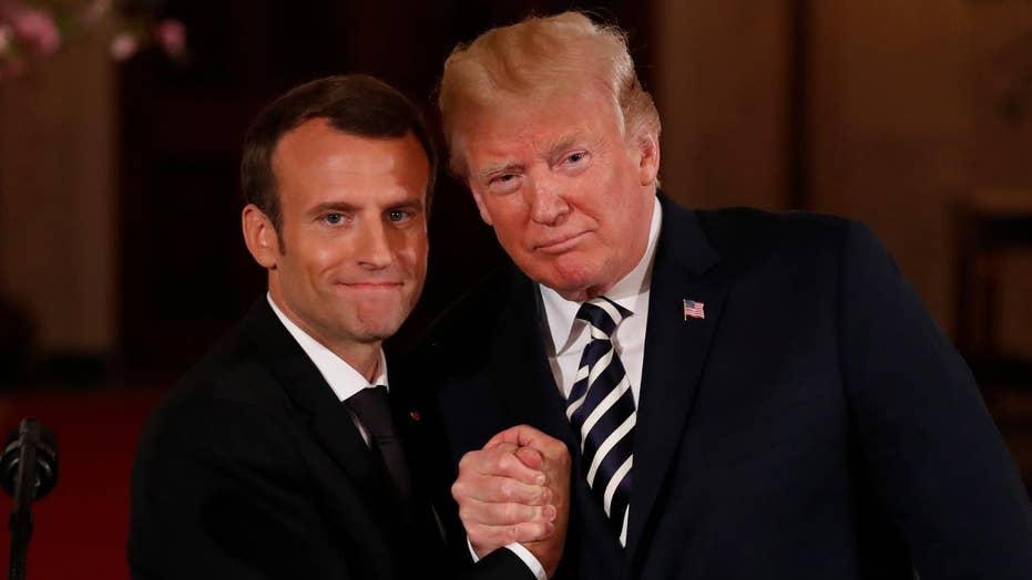 Notable Quotables: Trump-Macron bromance in Washington