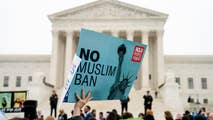 At issue is the constitutionality of the third version of President Trump's travel ban and the balance of power between Congress and the executive branch when it comes to immigration and vetting.