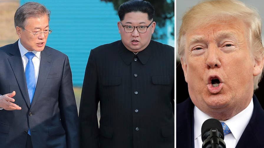 Leaders of North, South Korea agreed in principle today to remove all nuclear weapons from their countries; is Trump's tough talk making a difference? Reaction and analysis on 'The Ingraham Angle.'