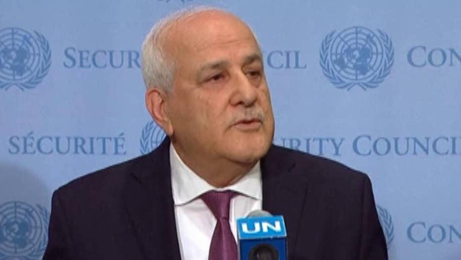 Palestinian representative to UN calls for investigation