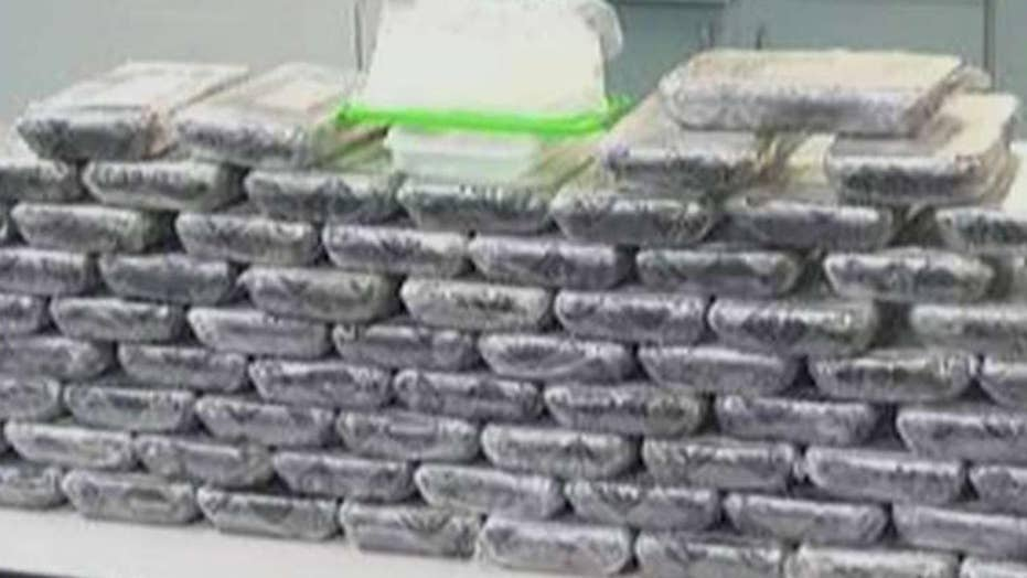 Police: 126 pounds of drugs hidden among Starbucks delivery