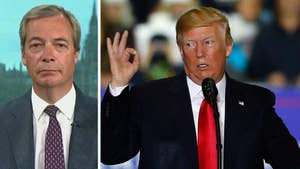 Trump says the European Union takes advantage of the United States; Fox News contributor Nigel Farage weighs in.