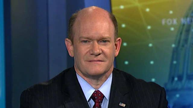 Sen. Coons on Trump foreign policy, bill to protect Mueller