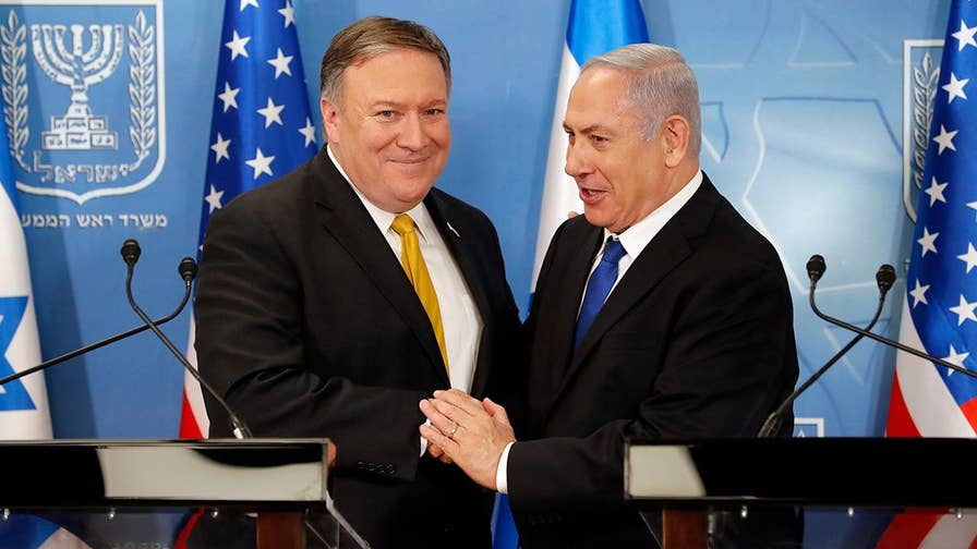 US Secretary of State and Israeli Prime Minister pledge to confront Iranian aggression